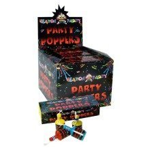 12 Party Poppers