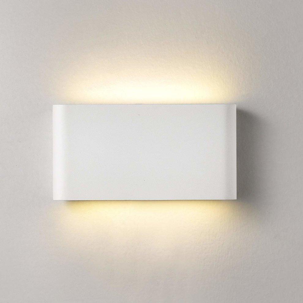 Topmo plus 12w led wall lamp waterproof ip65 aluminum slim wall lighting led indoor outdoor lights wall wash lights livingroom garden corridor