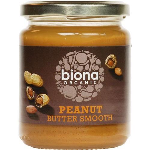 Biona Organic Peanut Butter Smooth 500g