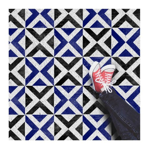 Ksar Geometric Tile Stencils for Painting Walls and Floors