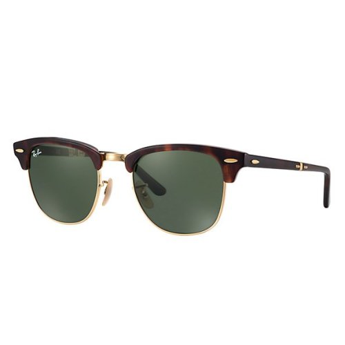 Ray-Ban Clubmaster Folding Sunglasses RB2176-990
