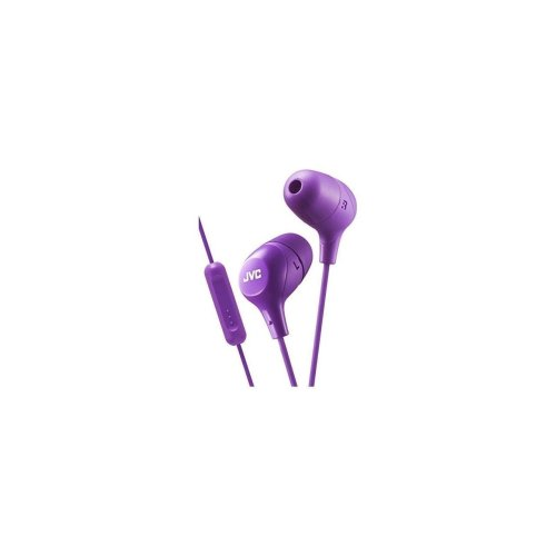 JVC In-Ear Headphones with 1-Button Remote Control and Microphone
