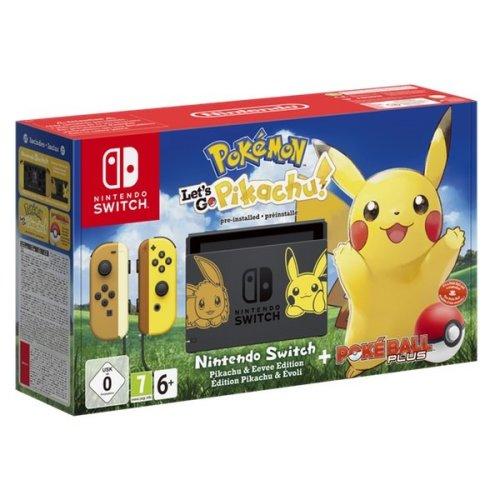Nintendo Switch Pokemon : Lets Go, Pikachu Bundle