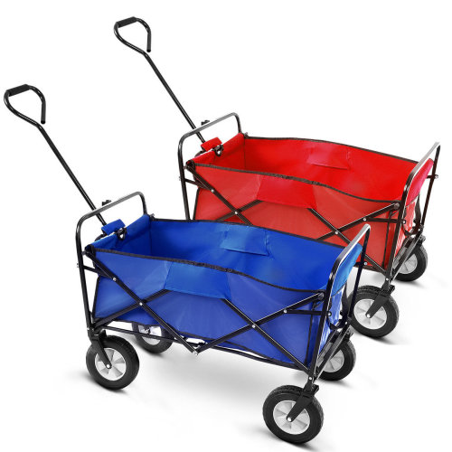 XL Foldable Garden Trolley Cart Wagon Truck