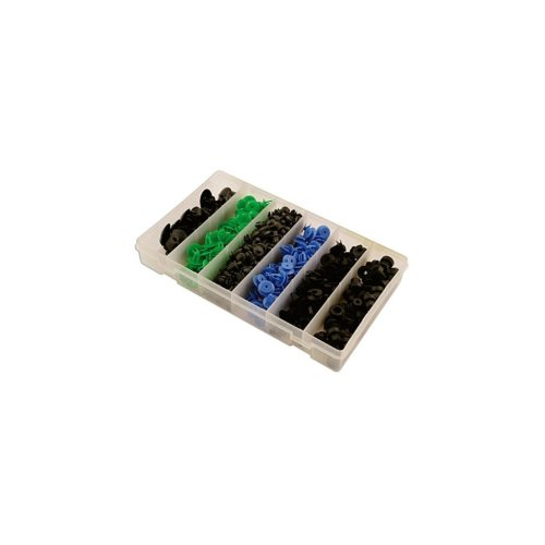 Box Of Trim Clips - Assorted - Opel - Pack Of 300