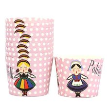 150PCS Lovely Pattern Baking Paper Cups Cake Cup Cupcakes Cases, Dancing Girl