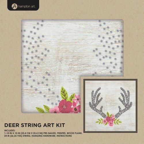 """String Art Kit 10""""X10""""-Deer"""