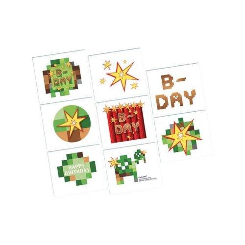 AmScan AM398549 Minecraft Tattoos Costume