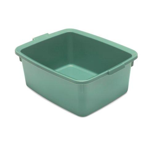 Addis Washing Up Bowl Utility Butler Belfast Sinks, Sage Green, 33 x 42 x 17 cm