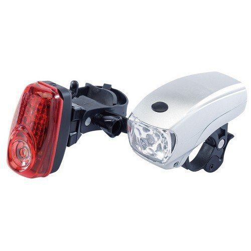 Draper 51749 Front and Rear LED Bicycle Light Set
