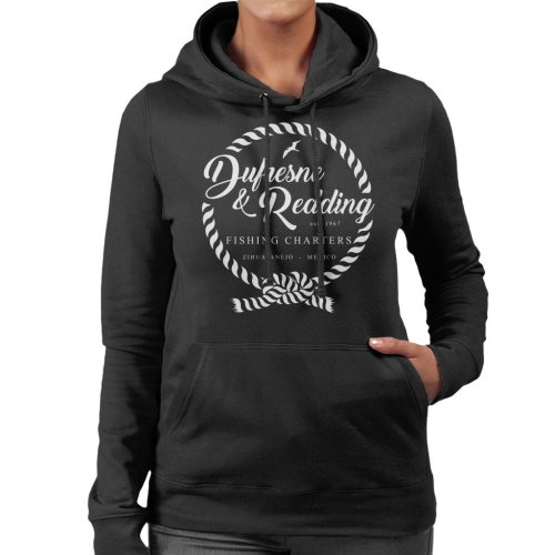 Dufresne And Redding Fishing Shawshank Redemption Women's Hooded Sweatshirt
