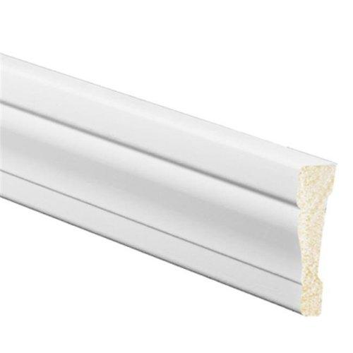 Inteplast Building 227396 7 ft. White OG Casing Molding