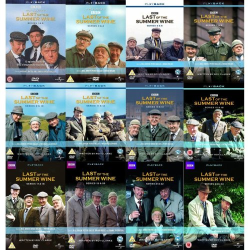 Last of the Summer Wine DVD Box Sets - Series 1-26