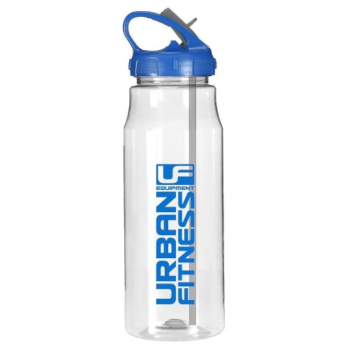 Urban Fitness Hydro Water Fitness Drink Bottle Clear/Blue 700ml
