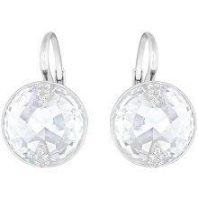 Swarovski Globe Pierced Earrings - White - 5274314