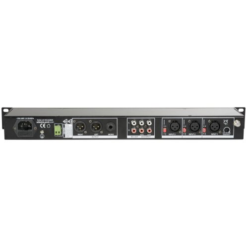 Rack Mixer With Bluetooth® & USB/FM Player