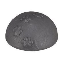 Trixie Dome Memorial With Dome Top–grey–ø15x8cm For Dogs And Cats - Stone -  trixie memorial stone dome paws new