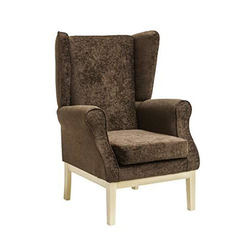 MAWCARE Ashbourne Orthopaedic High Seat Chair - 17 x 18 Inches [Height x Width] in Darcy Mocha (lc23-Ashbourne_d)