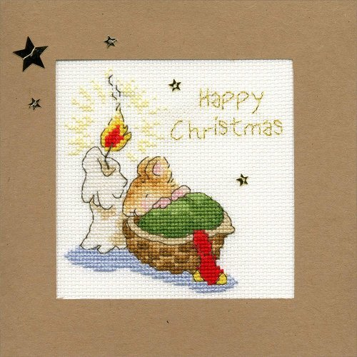 Bothy Threads Cross Stitch Kit - Christmas cards :   First Christmas XMAS19