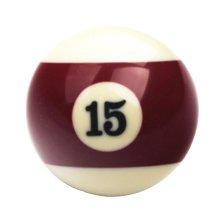 1 PCS Cue Sport Snooker USA Pool Billiard Balls 57.2 mm /2-1/4 - NO.15