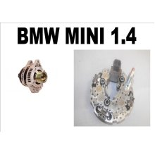 NEW ALTERNATOR REG AND RECTFIER PACK FOR BMW MINI 1.4 DIESEL DENSO 104210-3730