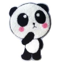 """Creative Lovely Panda Patches Fashion Towel Down Jacket Applique 5.7*7.6"""""""