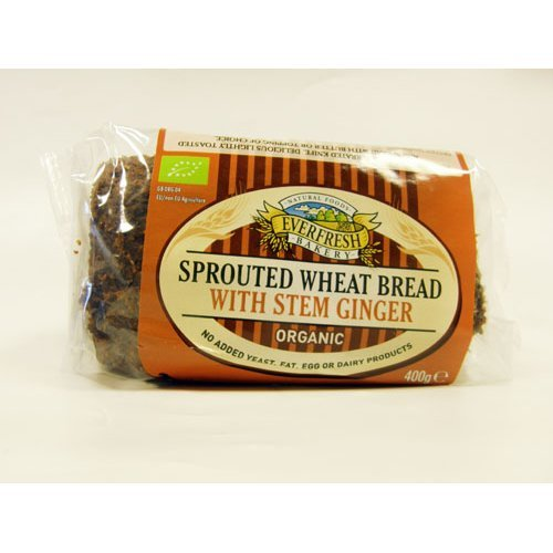 Everfresh  Sprouted Stem Ginger Bread 400g