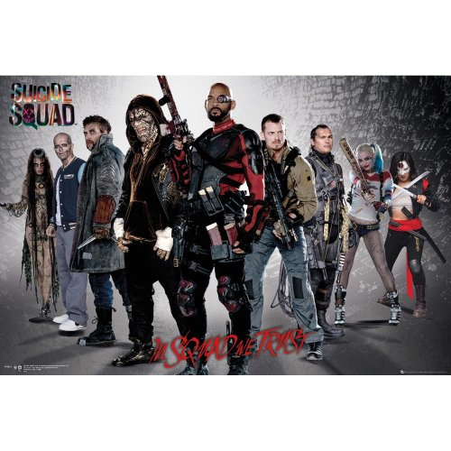 Suicide Squad Group Maxi Poster