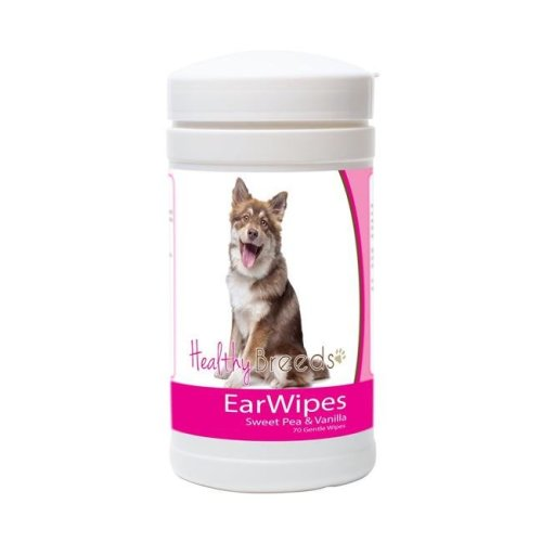 Healthy Breeds 840235172901 Finnish Lapphund Ear Wipes - 70 Count