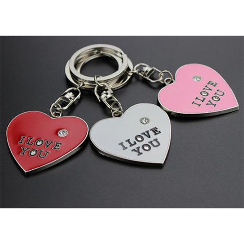 17624585da Love Heart Shaped I Love You Keyring Key Chain on OnBuy