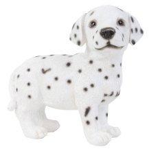 Realistic 16cm Standing Dalmatian Puppy Dog Statue Ornament