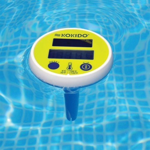 Kokido Solar Digital Thermometer for Swimming Pools & Spas