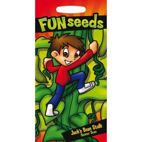 Mr Fothergills - Pictorial Packet - Fun With Seeds - Jack Bean Stalk - 20 Seeds