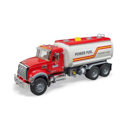 Bruder 02827 Mack Granite Tank Truck Play Set