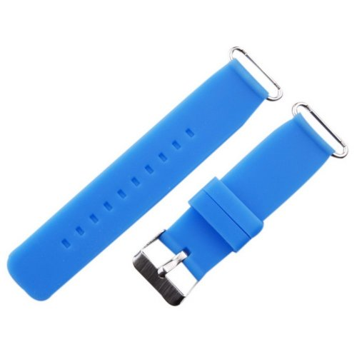 Children Watch Bands Quick Release Silicone Single Color Replacement Straps Blue