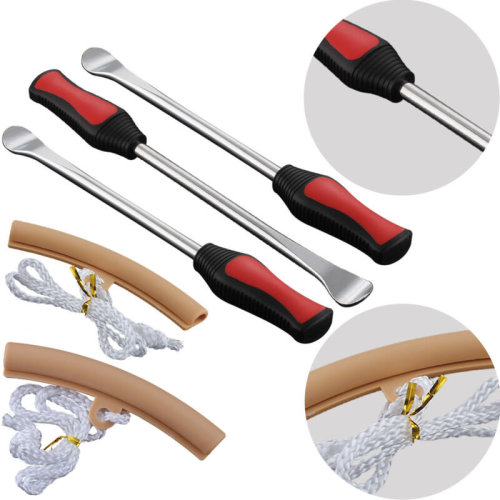 3x Tire Lever Tool Spoon Motorcycle Tire Iron Changing 2pcs Wheel Rim Protectors
