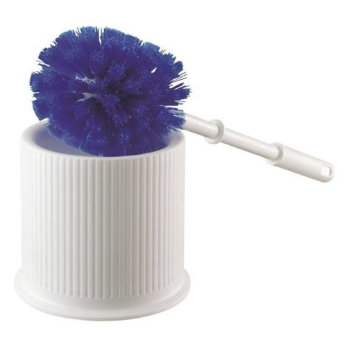 Quickie Manufacturing 2292373 Toilet Bowl Brushes, European Design - with Caddy