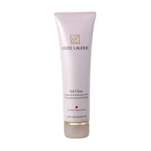 Estee Lauder Soft Clean Moisture Rich Foaming Cleanser, 4.2 Ounce