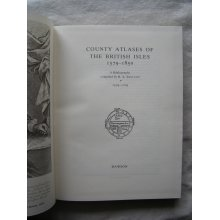 County Atlases of the British Isles, 1579-1850: 1579-1703 Pt. 1: a Bibliography