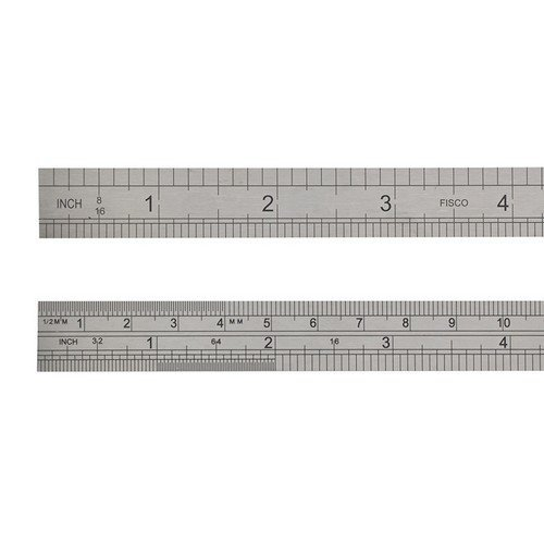 Fisco X706-S Stainless Steel Rule 150mm / 6in