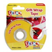 19mm x 20m Gift Wrap Tape - 192mm 1 Roll Stationery Accessories - Gift Wrap Tape 192mm x 20m 1 Roll Stationery Accessories