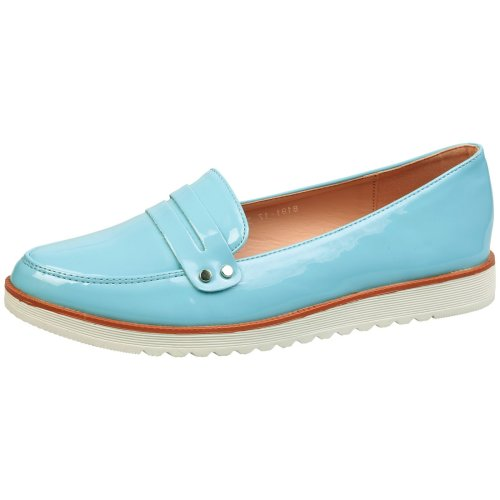 Manon Womens Low Heels Flatform Slip On Loafers