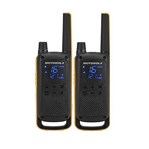 Motorola Talkabout T82 Extreme PMR446 2-Way Walkie Talkie Radio Twin Pack - Yellow / Black
