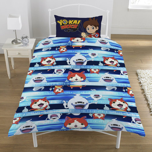 Yo-Kai Watch Single Duvet Cover Quilt Cover Bedding Set
