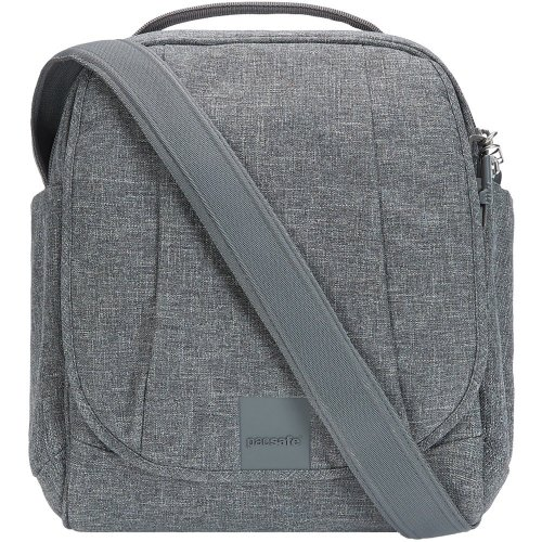 Pacsafe Metrosafe LS200 Anti-theft Medium Shoulder Bag (Dark Tweed)