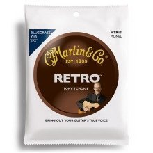 Martin Mtr13 Tony Rice Retro Monel Acoustic Strings (13-56)