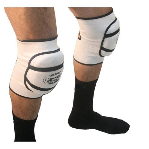 Professional Protective Knee Pads - White, Medium