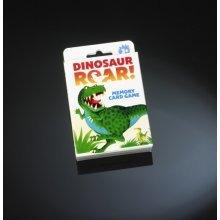 Dinosaur Roar Memory Card Game -  card game paul dinosaur roar lamond memory