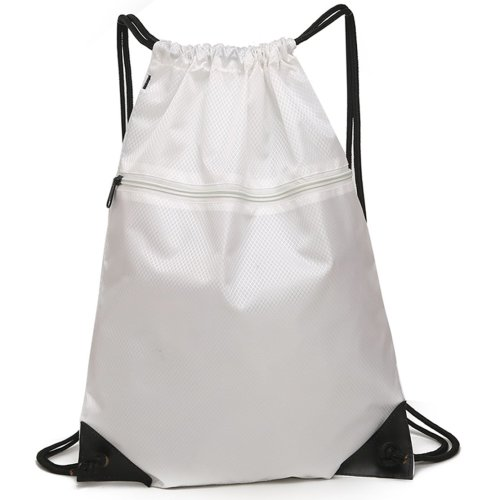 Drawstring Bag Unisex Gym Bag Sport Rucksack Shoulder Bag Hiking Backpack #4