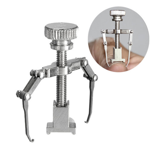 Professional Silver Ingrown Toenail Thick Paronychia Correction Tool Pedicure Manicure